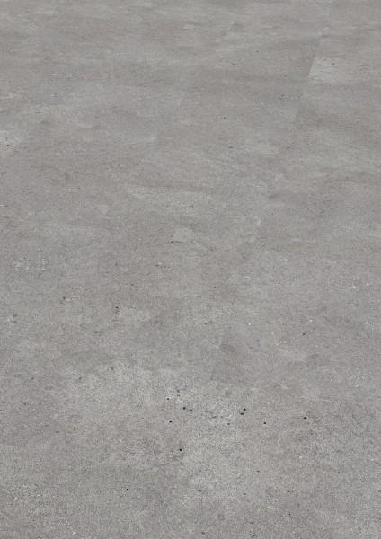 SAMOA Designboden Moongrey stone geschliffen von KWG zun verkleben